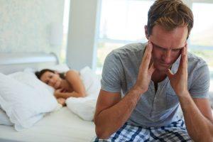 A man experiencing erectile dysfunction